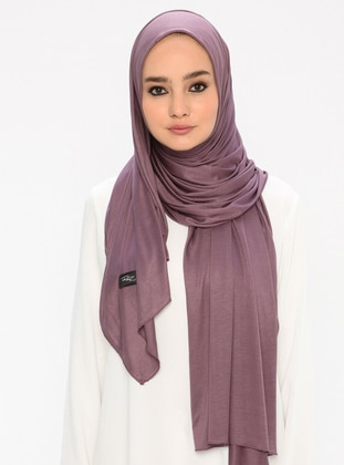 Lilac - Plain -  - Shawl