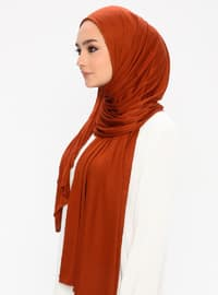 Terra Cotta - Plain -  - Shawl