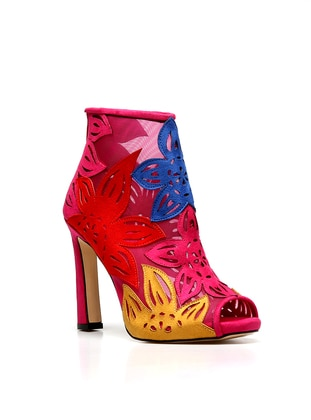 Fuchsia - High Heel - Shoes