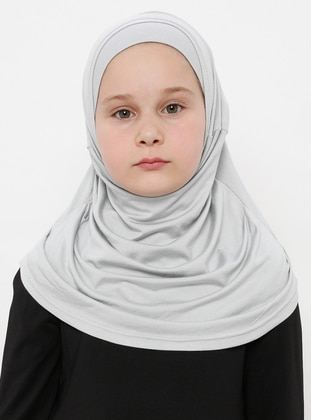 Gray - Simple - Viscose - Bonnet