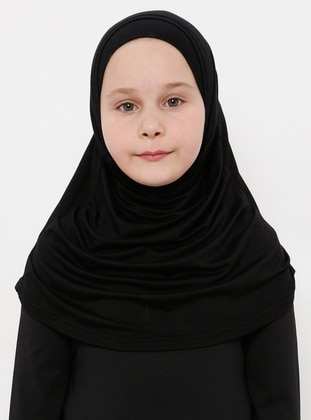 Black - Simple - Viscose - Bonnet