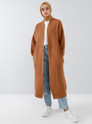 Bronze - Acrylic - Cotton -  - Cardigan