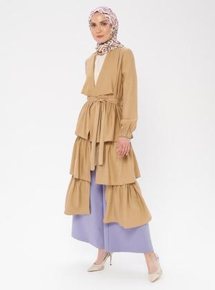 Camel - Shawl Collar - Topcoat