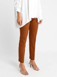 Tan - Plus Size Pants