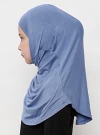Blue - Simple - Viscose - Bonnet