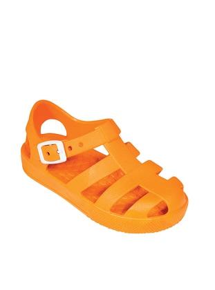 Orange - Sandal - Girls` Slippers