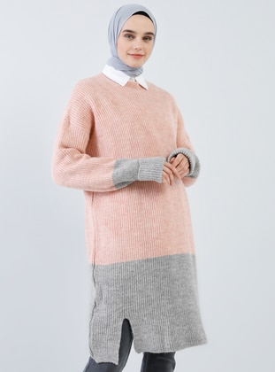 Powder - Polo neck - Acrylic -  - Tunic