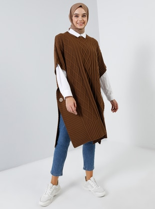 Cinnamon - Unlined - Poncho