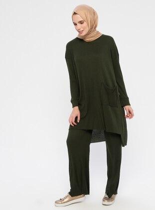 Emerald - Unlined - Cotton - Suit