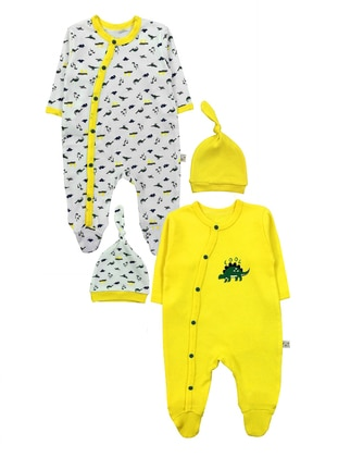 Multi - Cotton - Yellow - Overall