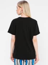 Multi - Black - T-Shirt