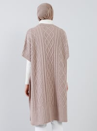 Pink - Unlined -  - Poncho