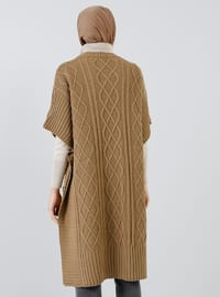 Camel - Unlined -  - Poncho