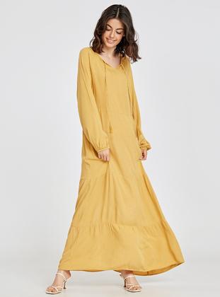 f56fdd8bc أصفر فستان Modelleri ve Fiyatları - Modanisa.com