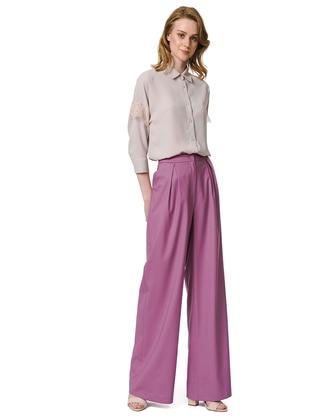 Lilac - Wool Blend - Pants