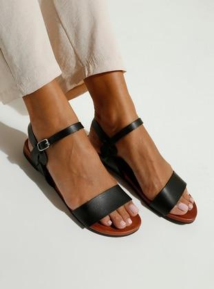 Black - Sandal - Sandal - Polact