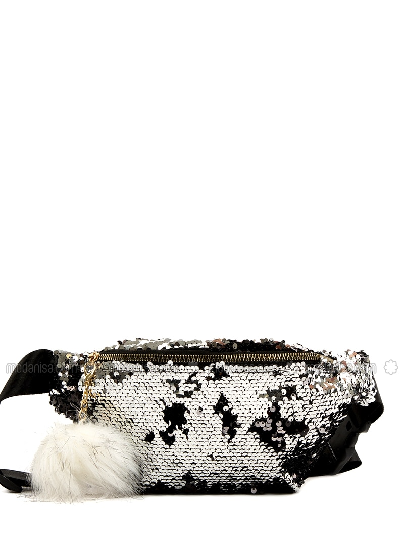 Silver tone - Bum Bag