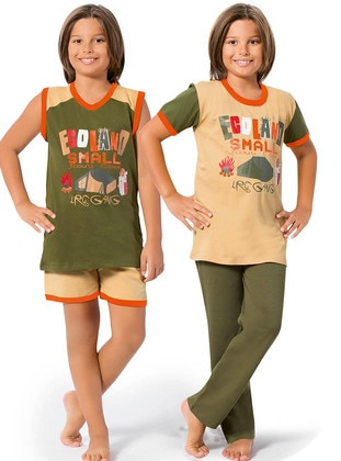 Khaki - Boys` Pyjamas