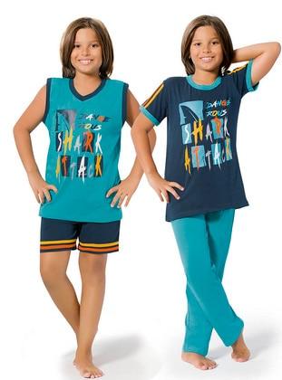Petrol - Indigo - Boys` Pyjamas