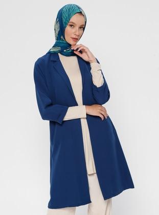 Indigo - Unlined - Shawl Collar - Jacket