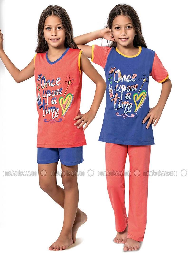 Pink - Multi - Girls` Pyjamas