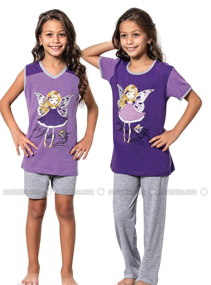 Purple - Girls` Pyjamas
