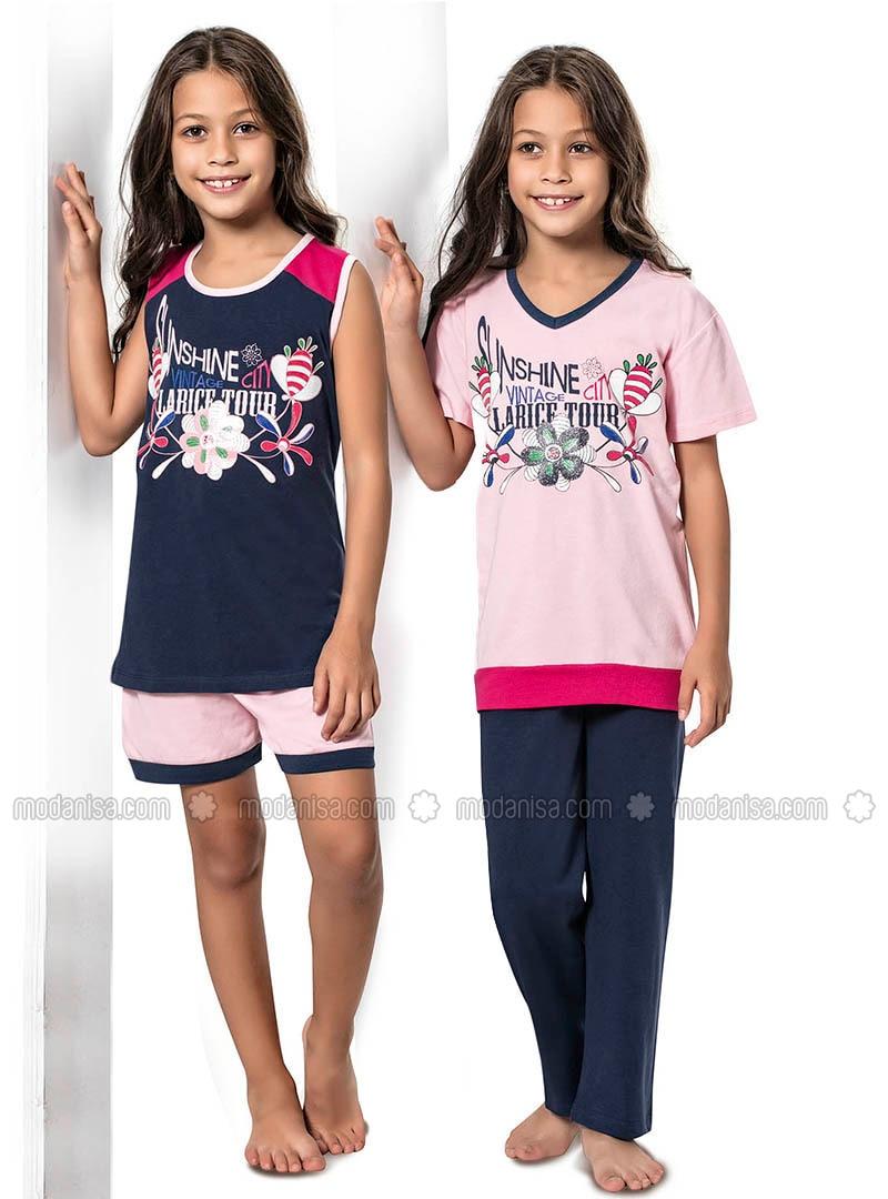 Pink - Multi - Indigo - Girls` Pyjamas