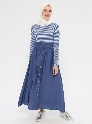 Indigo - Unlined - Skirt