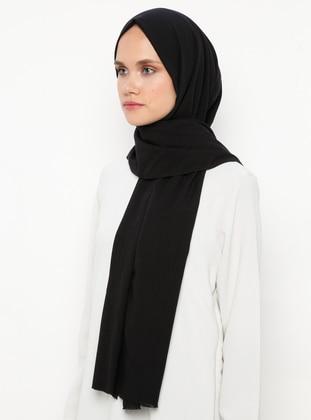 Black - Striped - Shawl
