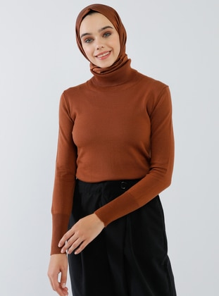 Copper - Polo neck - Acrylic -  - Jumper - Benin