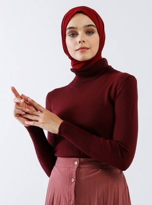 Cherry - Polo neck - Acrylic -  - Jumper