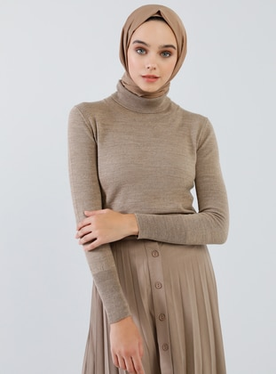 Mink - Polo neck - Acrylic -  - Jumper - Benin