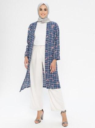 Indigo - Multi - Shawl Collar - Jacket