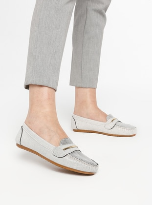 White - Casual - Shoes