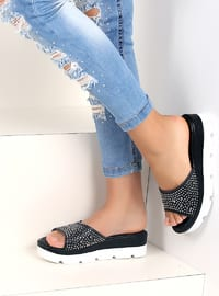 Black - Sandal - Slippers