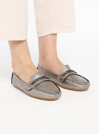 Silver - Casual - Shoes