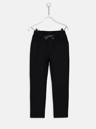Black - Boys` Pants - LC WAIKIKI