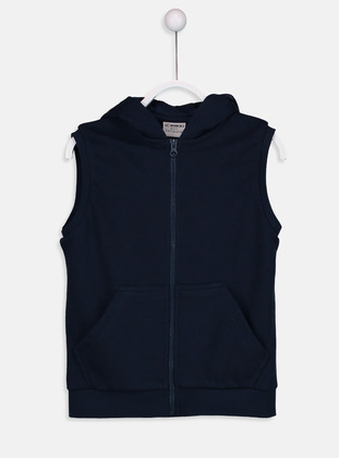 Navy Blue - Boys` Jacket - LC WAIKIKI