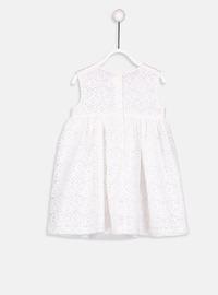 Printed - Ecru - Baby Dress