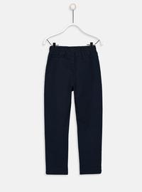 Navy Blue - Boys` Pants