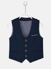 Navy Blue - Boys` Jacket