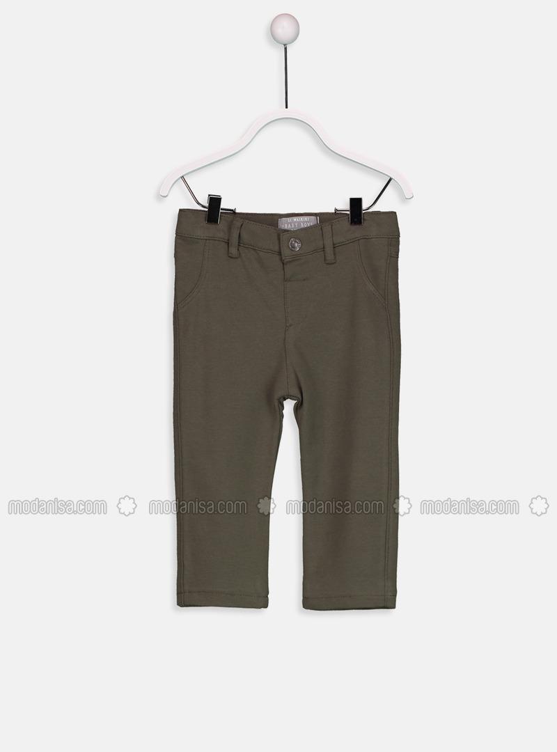 Khaki - Baby Pants