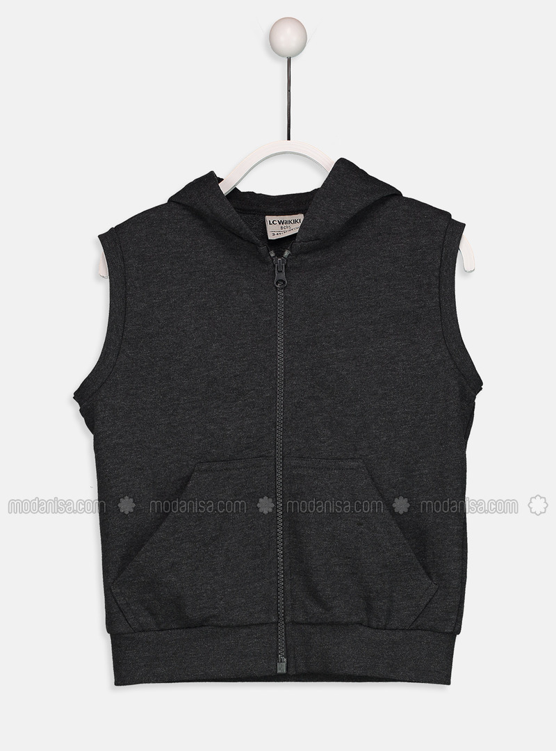 Anthracite - Boys` Jacket