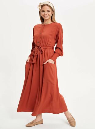 14d56ab0240a9 DeFacto Tesettür Elbise Modelleri ve Fiyatları - Modanisa.com