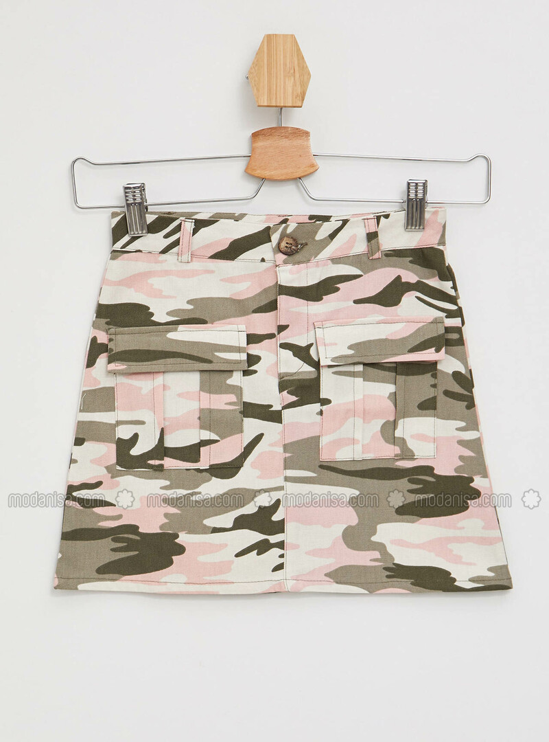 Khaki - Girls` Skirt
