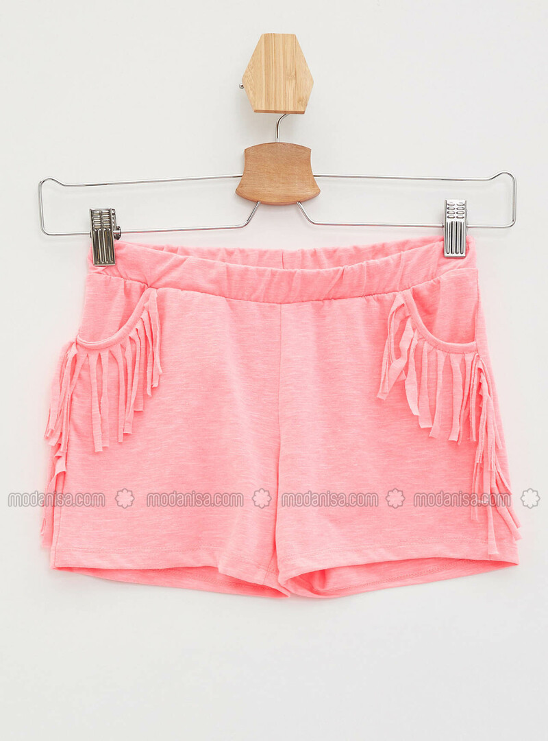 Pink - Girls` Shorts