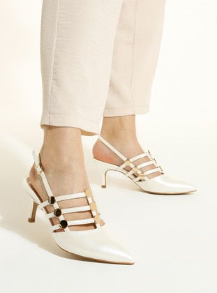 Ecru - High Heel - Shoes