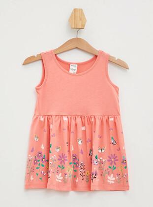 Orange - Baby Dress