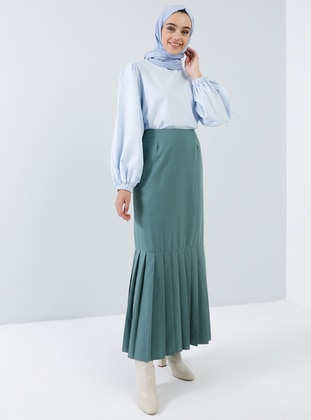 Green - Unlined - Skirt