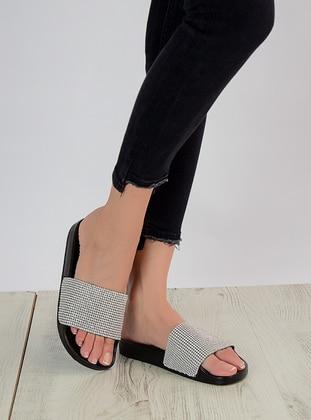 Silver tone - Sandal - Slippers